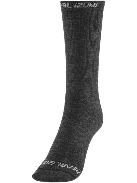 PEARL iZUMi ELITE Tall Wool Sock Black